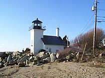 Bristol Ferry Lighthouse in Rhode Island.jpg