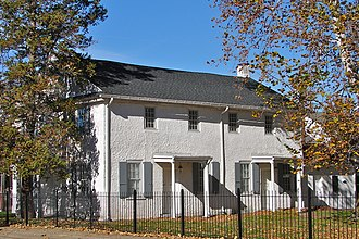 Bristol Historic District - Bristol Friends Meetinghouse