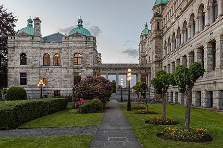 British Columbia Parliament Buildings in Victoria, British Columbia, Canada