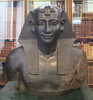 Ptolemy I Soter - Ptolemy as Pharaoh of Egypt, British Museum, London