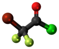Bromodifluoroacetyl chloride 3D ball.png