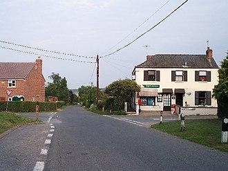 Bromsberrow - Image: Bromsberrow Heath Post Office