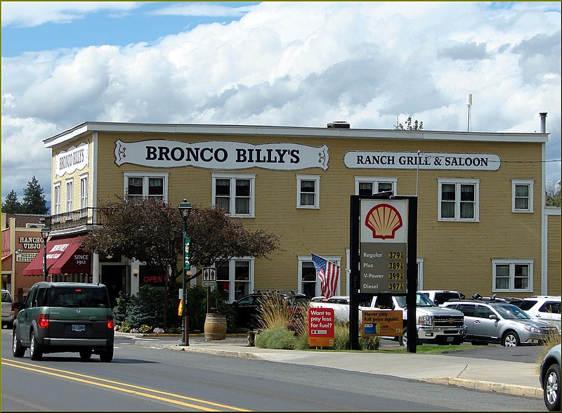 File:Bronco Billy's, Sisters, OR 9-1-13zza (9880312993).jpg