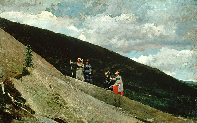 640px-Brooklyn_Museum_-_In_the_Mountains_-_Winslow_Homer_-_overall.jpg (640×401)