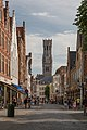 Bruges Belgium Steenstraat-and-Belfry-01.jpg