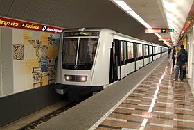 Image illustrative de l'article Métro de Budapest