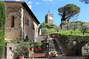 Buggiano - Image: Buggiano castello, torre dell'orologio
