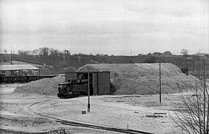 Krupp K5 - Image: Bundesarchiv Bild 101I 227 0274 15A, Frankreich, Atlantikwall, Eisenbahngeschütz