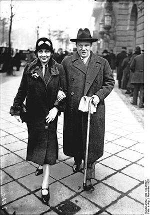 Richard Tauber - Richard Tauber and Carlotta Vanconti, c. 1928