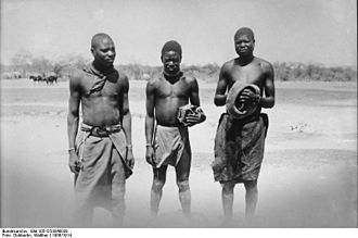 Ovambo people - Ovambo people (between 1906-1918)