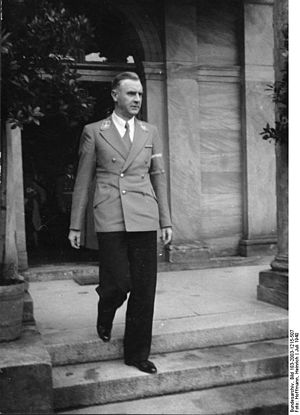 Bodo Lafferentz - Bodo Lafferentz, July 1940