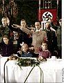 Bundesarchiv Bild 183-C17887, Berlin, Joseph Göbbels mit Kindern bei Weihnachtsfeier Recolored.jpg