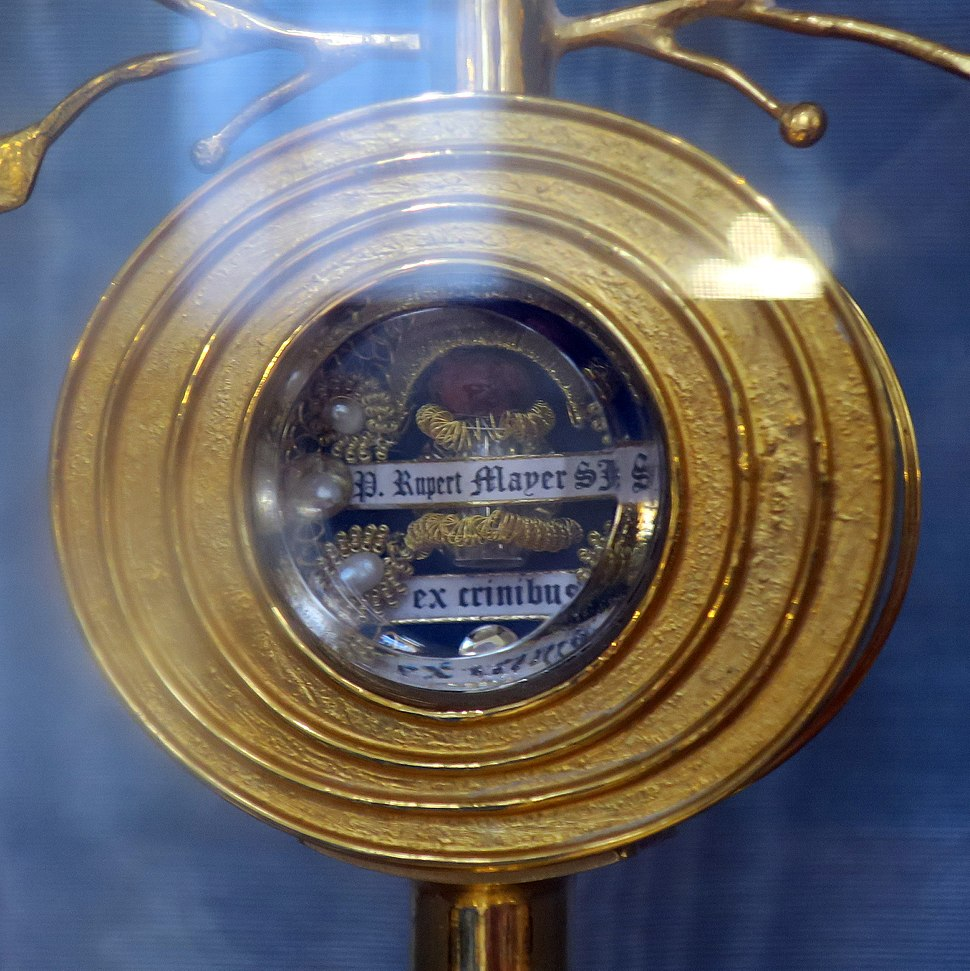 Burgersaalkirche - Relic of Ruper Mayer's hair (Munich, Bavaria)