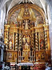 Retablo mayor barroco