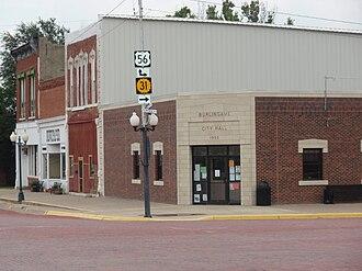 Burlingame, Kansas - Burlingame City Hall (2009)