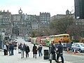 Buses on Waverley Bridge, 7 Nov 2004.jpg