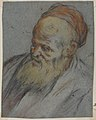 Bust-Length Study of a Bearded Man with Cap in Three-Quarter View MET 1999.164.jpg