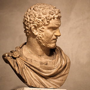 Bust of emperor Caracalla-IMG 9815