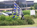 Butterfly sculpture - geograph.org.uk - 199696.jpg
