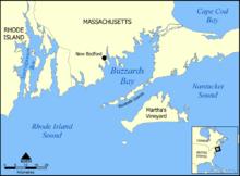 Buzzards Bay map