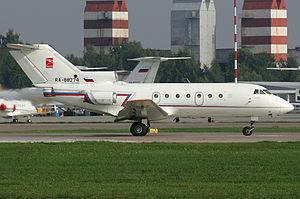 Bylina (airline) - Yakovlev Yak-40