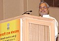 C.P. Joshi addressing at the National Convention to commemorate the 50th anniversary of launching of Panchayati Raj and observing 2009-10 as 'Year of Gram Sabha', in New Delhi on October 02, 2009.jpg