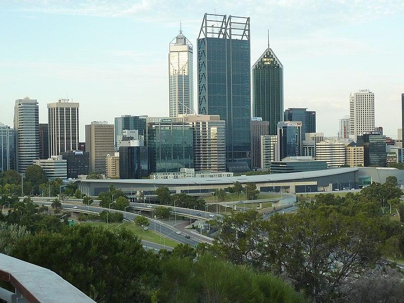 CBD of Perth, Western Australia from Kings Park.JPG
