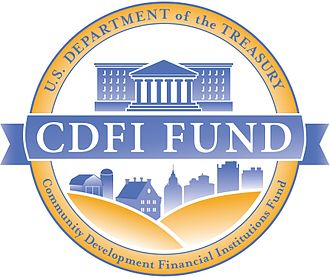 Logo of the CDFI Fund CDFI Fund logo.jpg