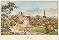 CH-NB - Schlosswil, Pfarrhaus und Kirche - Collection Gugelmann - GS-GUGE-WEIBEL-D-120b.tif