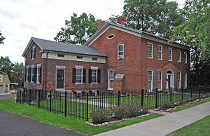 Clarkson Corners Historic District - The Henry R. Selden House in the district