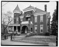 CLOSE-UP VIEW OF FACADE - John E. Gannaway House, Washington and Clay Streets, Lynchburg, Lynchburg, VA HABS VA,16-LYNBU,112-2.tif