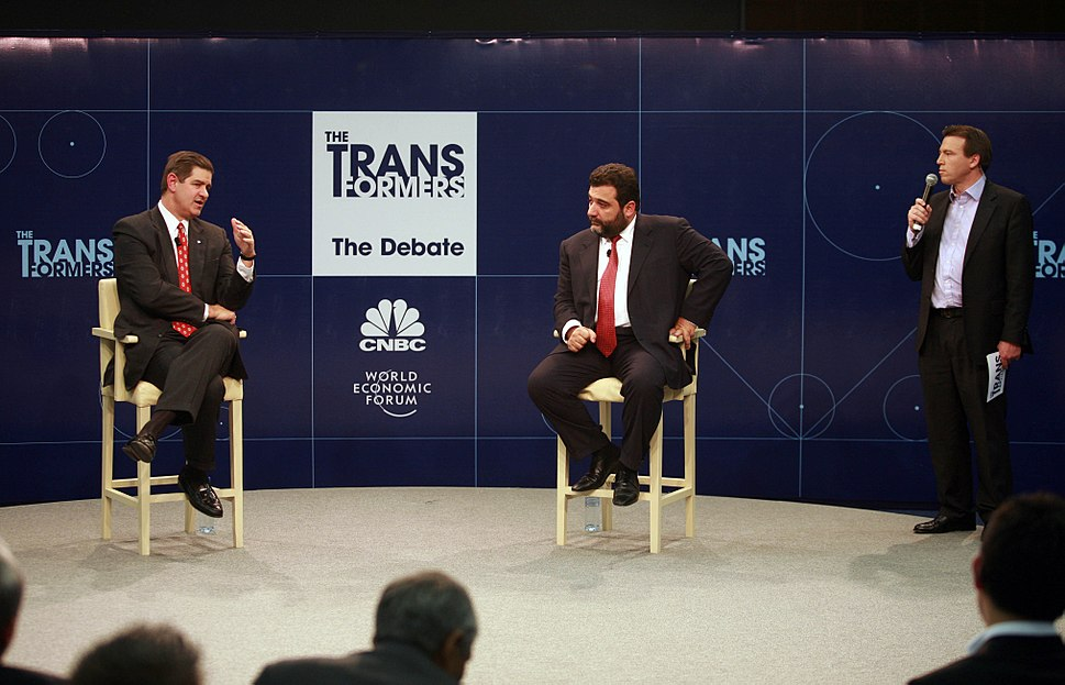 CNBC World Economic Forum debate