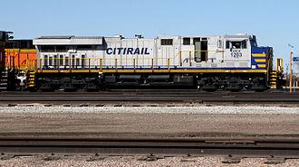 GE Evolution Series - Citirail (CREX) ES44AC no.1203 in March 2014.