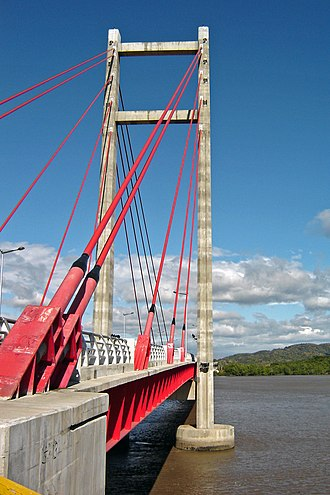 Transport in Costa Rica - Tempisque River bridge.