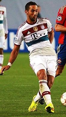Benatia con la maglia del Bayern Monaco nel 2014