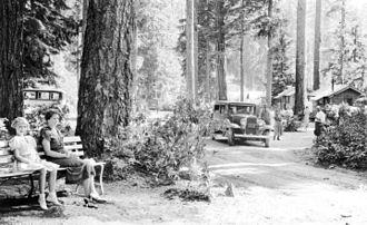 Breitenbush Hot Springs - Cabins at Breitenbush Hot Springs, circa 1930
