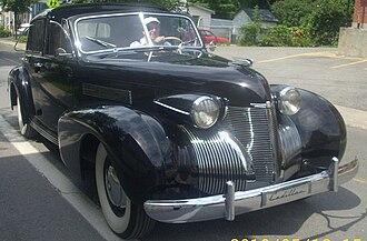 Cadillac Series 70 - 1939 Cadillac Series 75 town car
