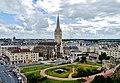 Caen Château de Caen Blick auf die Rue Montoir Poissonnerie 1.jpg