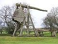 Caerlaverock Castle - replica trebuchet - geograph.org.uk - 1135461.jpg