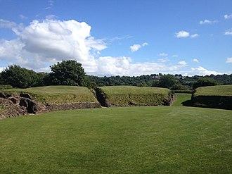 Isca Augusta - Caerleon amphitheatre