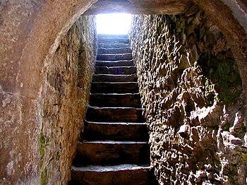 Corredor del castillo de Cahir