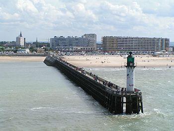 Calais Pier.