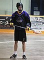 Caledon Bandits player black 2015.jpg