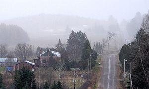 Calvin, Ontario - Rural scene near Eau Claire