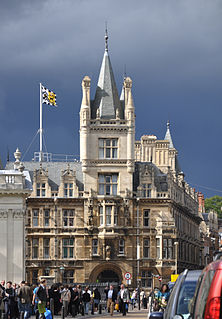 Gonville and Caius College, Cambridge college of the University of Cambridge, England