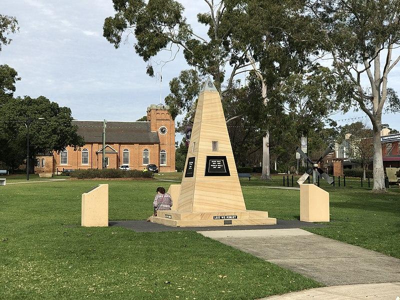 File:Campbelltown War Memorial, Mawson Park, Campbelltown, New South Wales.jpg
