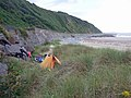 Campsite below the railway. - geograph.org.uk - 1477004.jpg