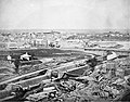 Canal locks and Major's Hill 1860.jpg
