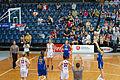 Canberra Capitals vs Logan Thunder 3 - Australian Institute of Sport Training Hall.jpg