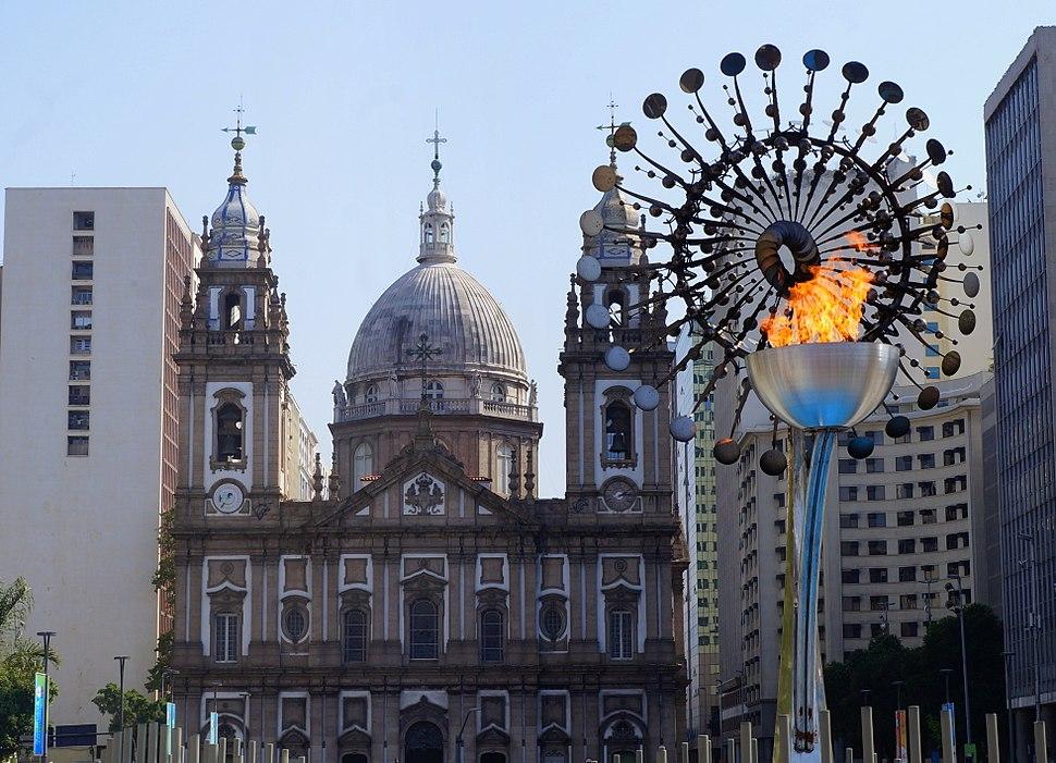 Candelária cauldron at 2016 Summer Olympics
